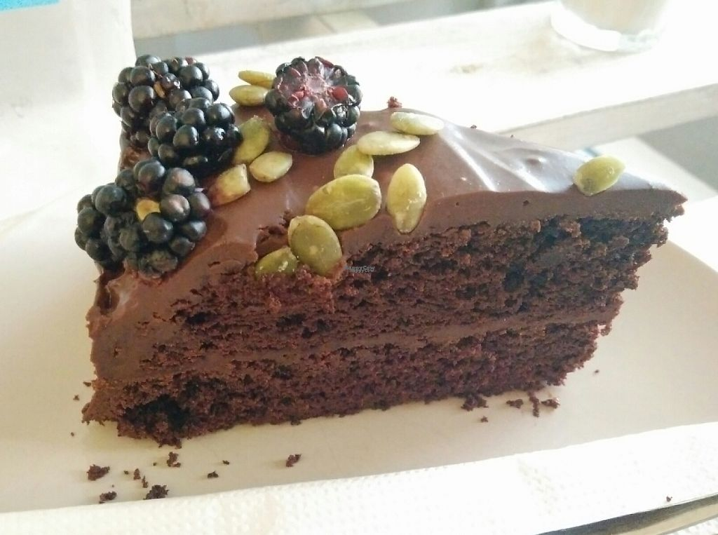 "Photo of Herbivore  by <a href=""/members/profile/martinicontomate"">martinicontomate</a> <br/>chocolate cake with blackberries and pumpkin seeds <br/> September 19, 2016  - <a href='/contact/abuse/image/72449/237171'>Report</a>"