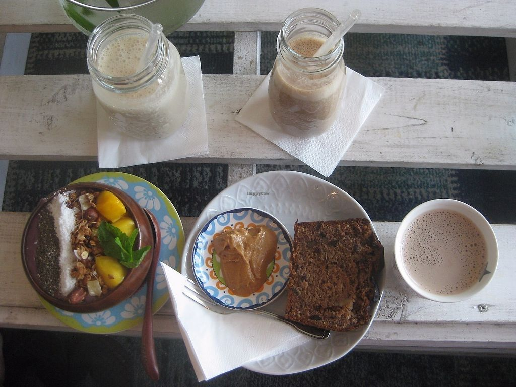 "Photo of Herbivore  by <a href=""/members/profile/jennyc32"">jennyc32</a> <br/>Acai bowl, banana bread and smoothies <br/> June 10, 2017  - <a href='/contact/abuse/image/72449/267756'>Report</a>"