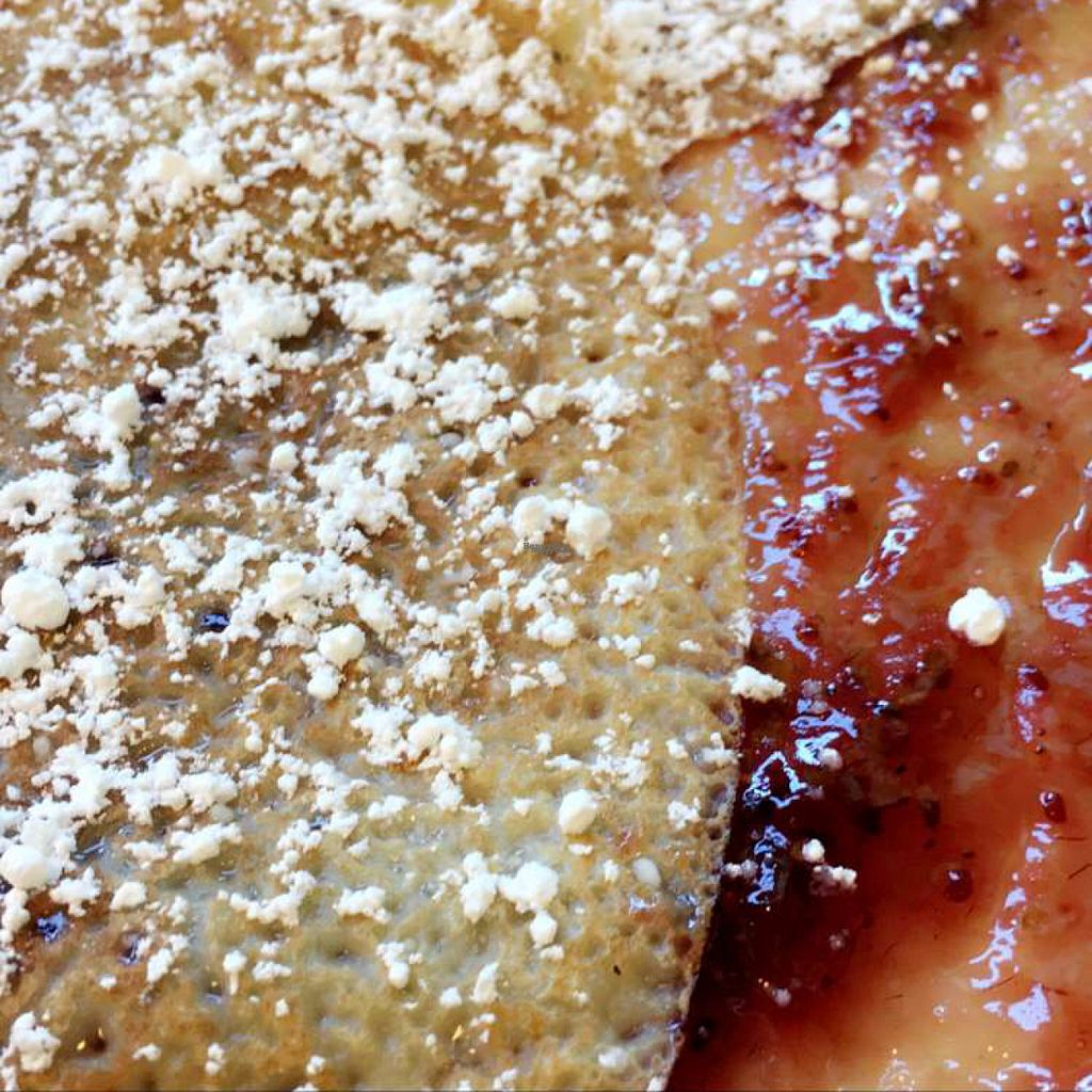 """Photo of Silver Moon Creperie  by <a href=""""/members/profile/lolacooks"""">lolacooks</a> <br/>raspberry jam crepe <br/> August 16, 2016  - <a href='/contact/abuse/image/72473/169174'>Report</a>"""