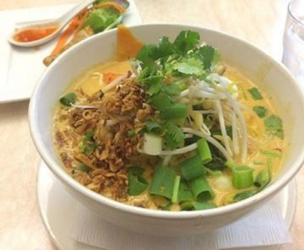 """Photo of Hot Chilli Bean Thai Cafe  by <a href=""""/members/profile/community"""">community</a> <br/>Veggie laksa noodles <br/> January 8, 2017  - <a href='/contact/abuse/image/72486/254692'>Report</a>"""