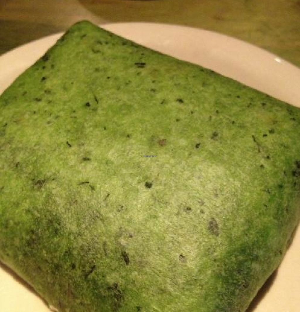 """Photo of Mad Mex  by <a href=""""/members/profile/Ringler"""">Ringler</a> <br/>St. Patty`s Day Green Burrito <br/> April 1, 2013  - <a href='/contact/abuse/image/7248/216805'>Report</a>"""