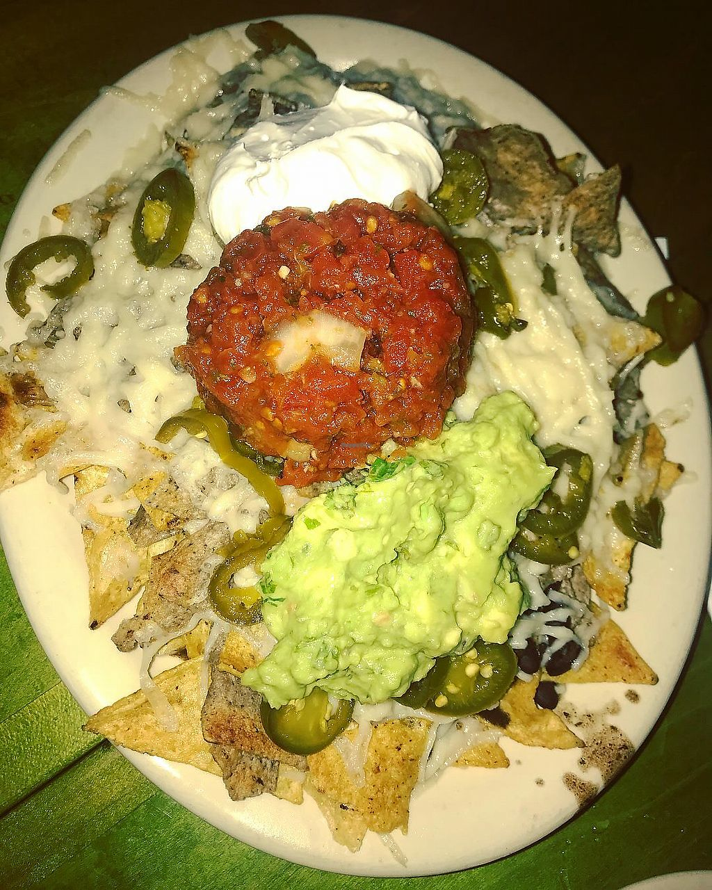 """Photo of Mad Mex  by <a href=""""/members/profile/Tabgreenvegan"""">Tabgreenvegan</a> <br/>Vegan Nachos  <br/> April 19, 2018  - <a href='/contact/abuse/image/7248/388165'>Report</a>"""