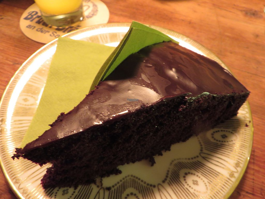 """Photo of CLOSED: Janoszek  by <a href=""""/members/profile/VegiAnna"""">VegiAnna</a> <br/>vegan chocolate cake with coconut and maple syrup glazing <br/> September 30, 2016  - <a href='/contact/abuse/image/72495/178666'>Report</a>"""
