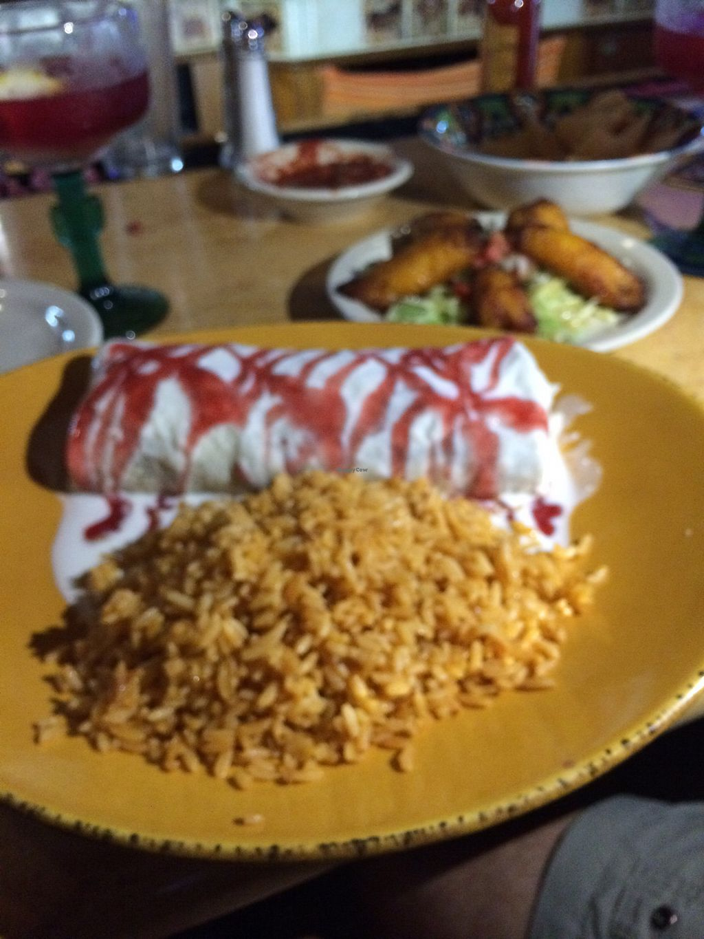 """Photo of Los Amigos  by <a href=""""/members/profile/MaryMargaretMonahan"""">MaryMargaretMonahan</a> <br/>sweet potato burrito  <br/> August 17, 2017  - <a href='/contact/abuse/image/72506/293787'>Report</a>"""