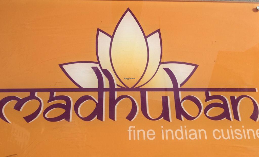 "Photo of Madhuban  by <a href=""/members/profile/Nirankarkaur"">Nirankarkaur</a> <br/>Indian restaurant, vegan friendly  <br/> May 21, 2016  - <a href='/contact/abuse/image/72530/150026'>Report</a>"