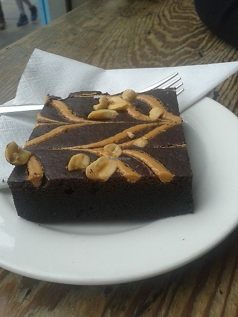 "Photo of Riverhill Coffee Bar  by <a href=""/members/profile/deadpledge"">deadpledge</a> <br/>Vegan peanut butter brownie <br/> July 5, 2017  - <a href='/contact/abuse/image/72590/276902'>Report</a>"