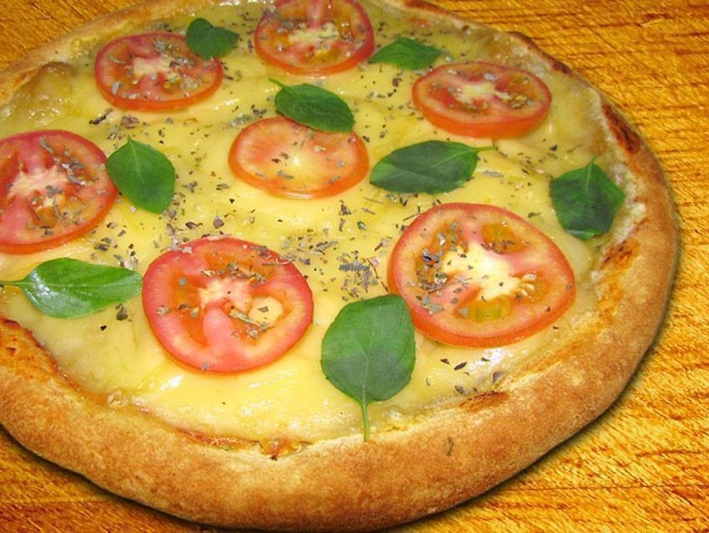 """Photo of Sampa Pizza  by <a href=""""/members/profile/community"""">community</a> <br/>Vegan Pizza <br/> March 29, 2017  - <a href='/contact/abuse/image/72598/242228'>Report</a>"""