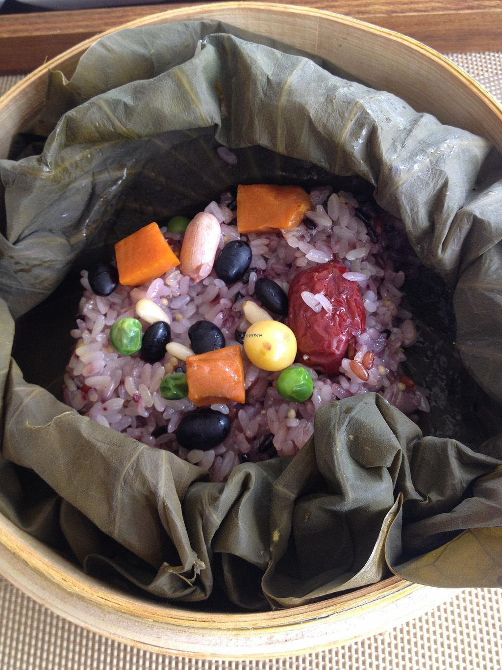 "Photo of CLOSED: Temple Stay Food  by <a href=""/members/profile/Emomeow"">Emomeow</a> <br/>Yeonnipbap: Rice cooked in a lotus leaf <br/> April 20, 2016  - <a href='/contact/abuse/image/72601/145531'>Report</a>"