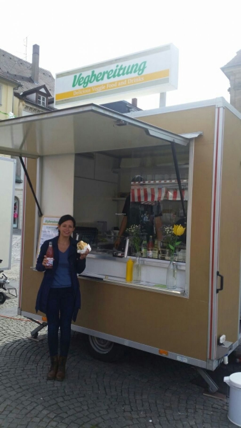 """Photo of Vegbereitung - Food Trailer  by <a href=""""/members/profile/Sonnenschein"""">Sonnenschein</a> <br/>vegbereitung; -) <br/> April 19, 2016  - <a href='/contact/abuse/image/72608/145185'>Report</a>"""