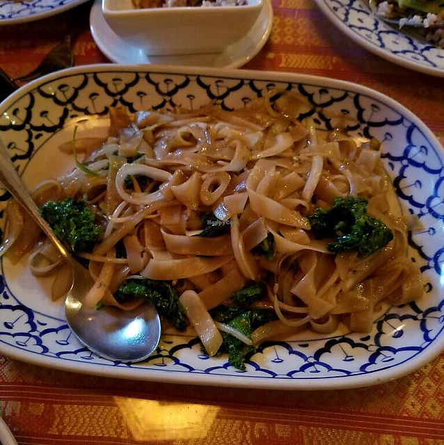 """Photo of Thai Basil II  by <a href=""""/members/profile/KatieBush"""">KatieBush</a> <br/>siew nay nay vegan <br/> July 16, 2017  - <a href='/contact/abuse/image/72621/280830'>Report</a>"""