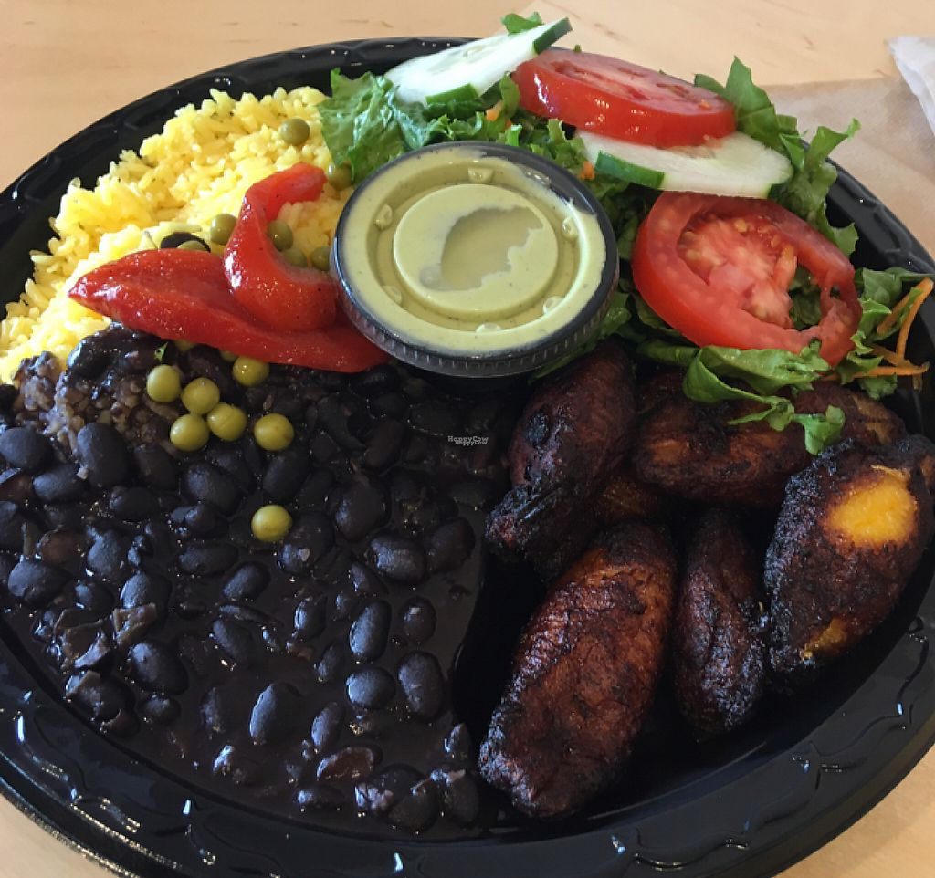 "Photo of Black Bean Deli  by <a href=""/members/profile/Rachey_15_"">Rachey_15_</a> <br/>vegetarian/vegan plater  <br/> October 15, 2016  - <a href='/contact/abuse/image/7262/197416'>Report</a>"