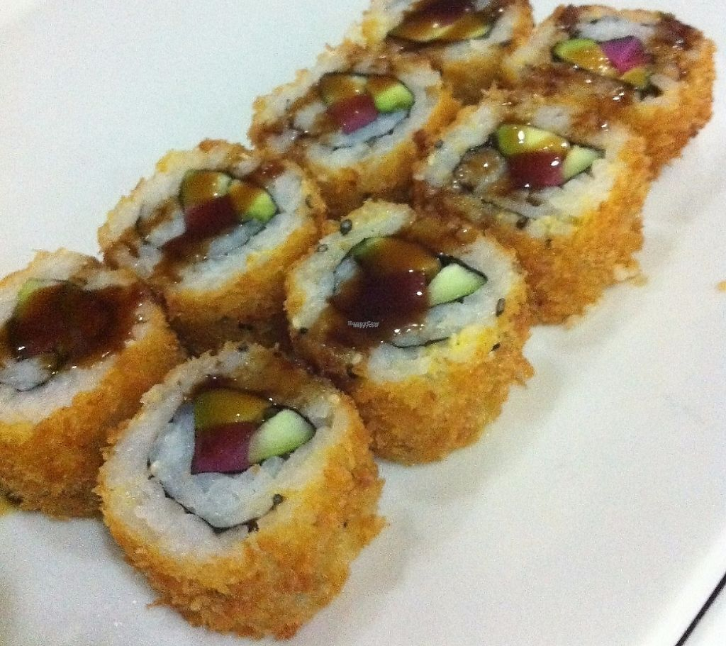 "Photo of HuaSheng  by <a href=""/members/profile/HaugachakaMan"">HaugachakaMan</a> <br/>Vegetables fried sushi (Vegan) <br/> November 14, 2016  - <a href='/contact/abuse/image/72636/241360'>Report</a>"