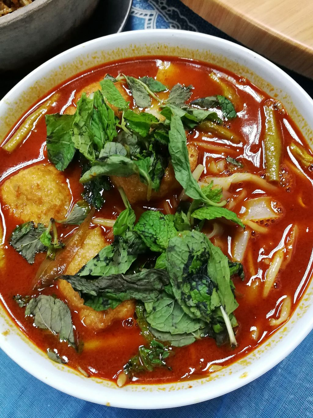 """Photo of Water Lily Restaurant  by <a href=""""/members/profile/RawChefYin"""">RawChefYin</a> <br/>Curry Kueh Teow Noodles <br/> February 7, 2018  - <a href='/contact/abuse/image/7264/355883'>Report</a>"""
