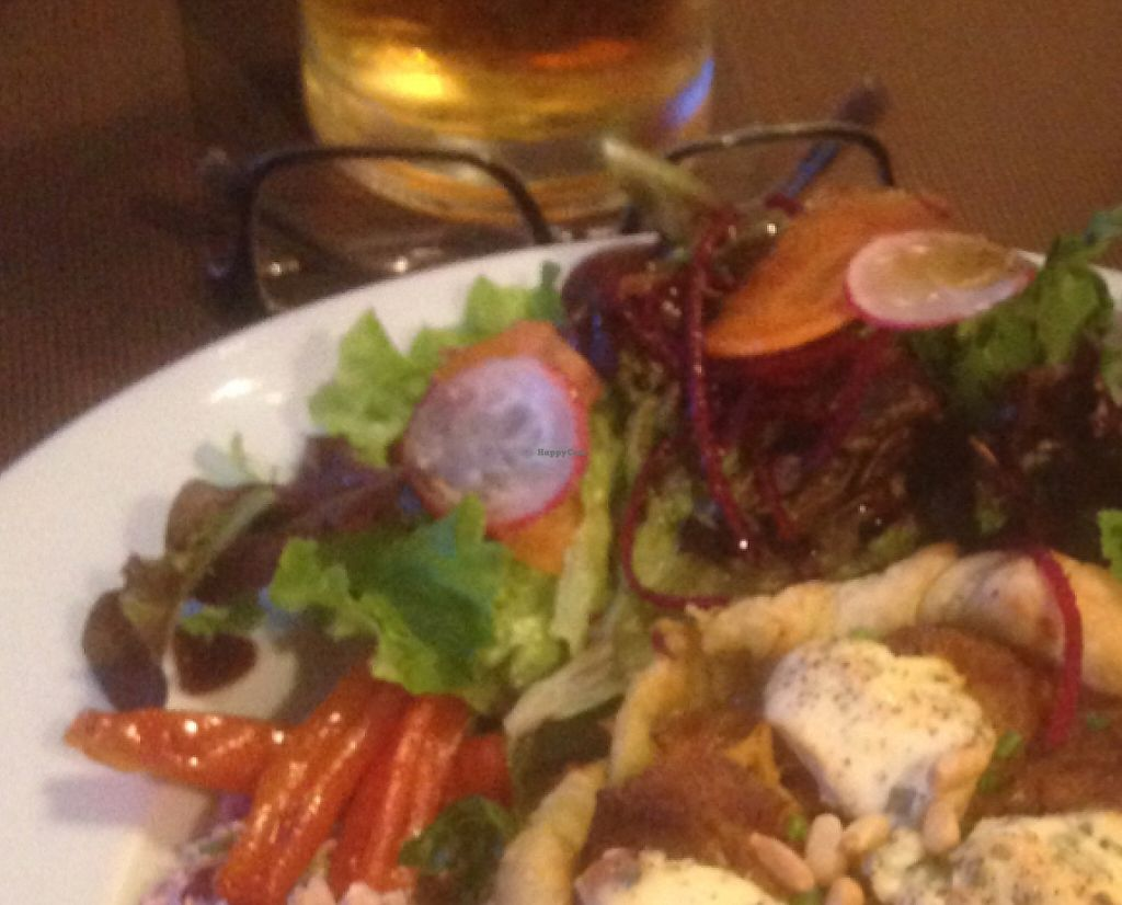 """Photo of CHICCAS  by <a href=""""/members/profile/Duncan%20Glyde"""">Duncan Glyde</a> <br/>Chiccas is a beautiful restaurant with good veggie and vegan choices. service with a smile and a great place to go. testament to how good it us were the queues.  <br/> May 10, 2016  - <a href='/contact/abuse/image/72652/241007'>Report</a>"""