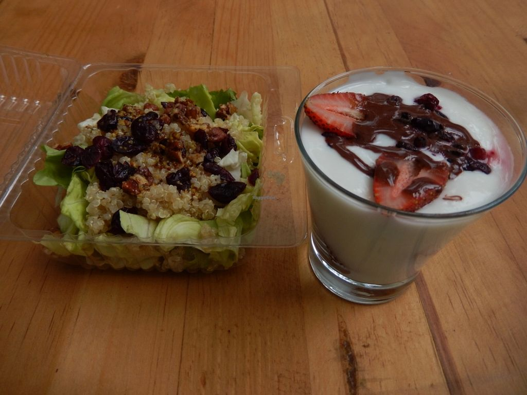 "Photo of ELK Bistro & Deli  by <a href=""/members/profile/CLRtraveller"">CLRtraveller</a> <br/>quinoa salad for takeaway and yogurt parfait for dessert <br/> May 1, 2016  - <a href='/contact/abuse/image/72734/146952'>Report</a>"