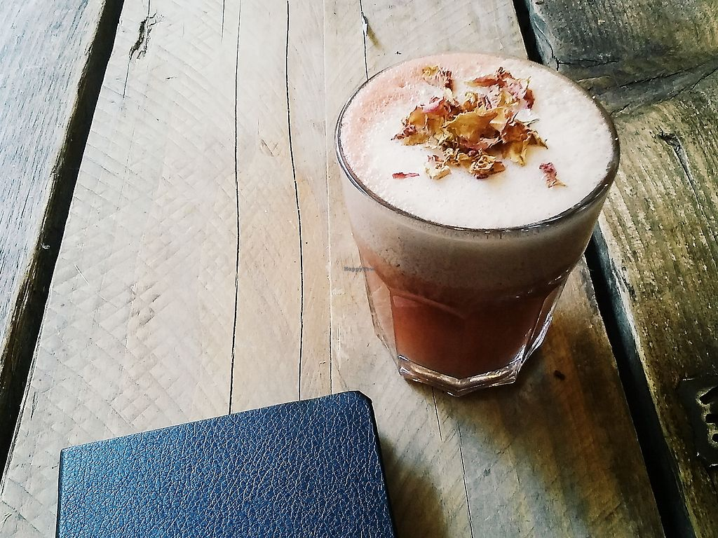 """Photo of CLOSED: SaladPride  by <a href=""""/members/profile/unmond"""">unmond</a> <br/>Raspberry and Rose Latte <br/> July 25, 2017  - <a href='/contact/abuse/image/72743/284753'>Report</a>"""