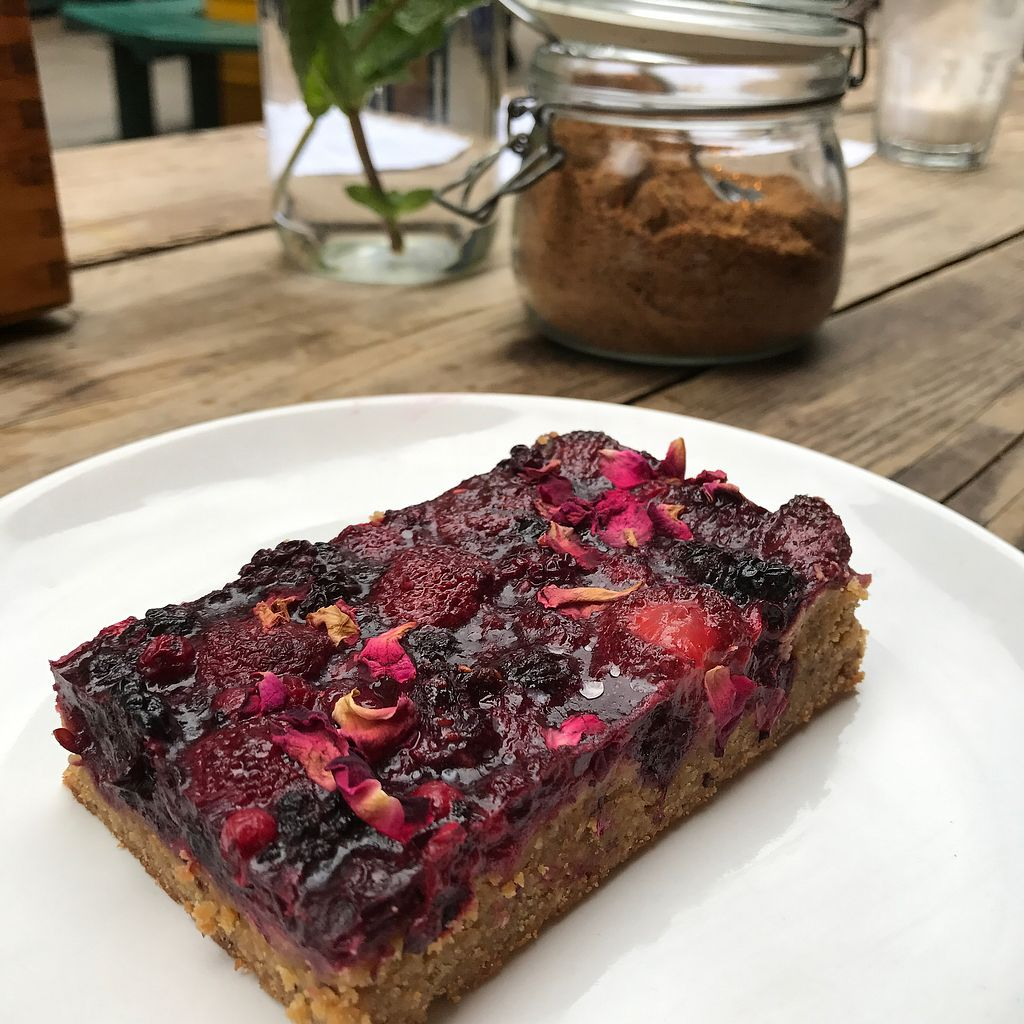 """Photo of CLOSED: SaladPride  by <a href=""""/members/profile/thecharlotte"""">thecharlotte</a> <br/>Polenta berry cake  <br/> October 24, 2017  - <a href='/contact/abuse/image/72743/318280'>Report</a>"""
