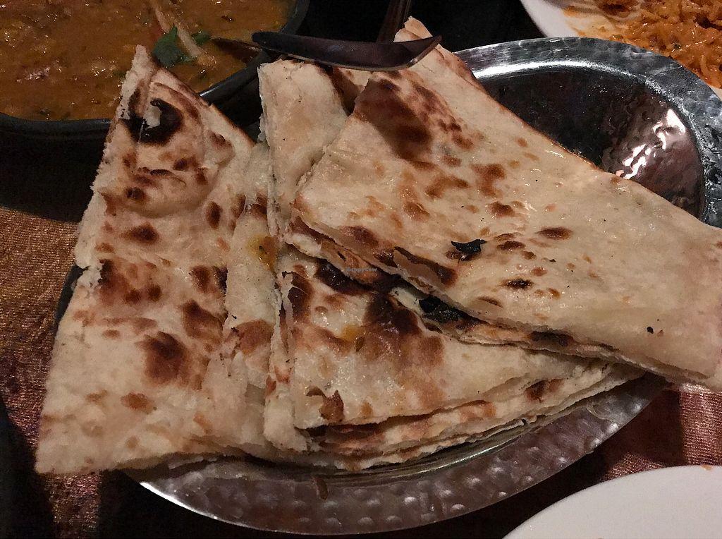 """Photo of Spice Temple Indian Restaurant and Bar  by <a href=""""/members/profile/stricko"""">stricko</a> <br/>Naan <br/> October 2, 2017  - <a href='/contact/abuse/image/72746/310991'>Report</a>"""