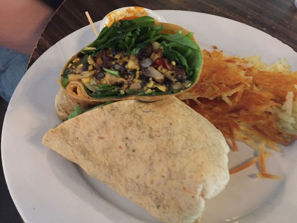"""Photo of Jam on Hawthorne  by <a href=""""/members/profile/TheVeganNarwhal"""">TheVeganNarwhal</a> <br/>Breakfast burrito <br/> February 12, 2018  - <a href='/contact/abuse/image/72751/358249'>Report</a>"""