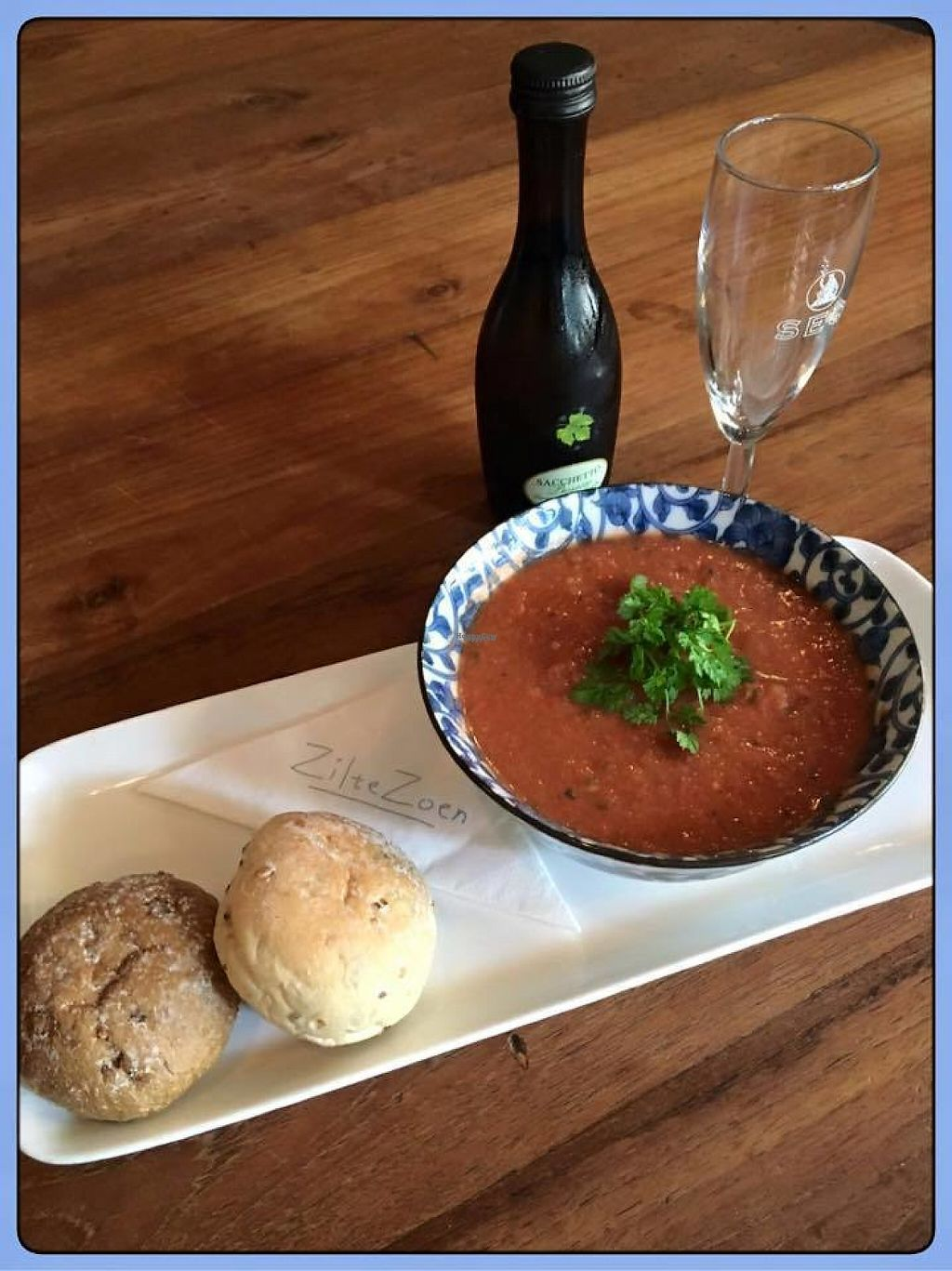 """Photo of Zilte Zoen  by <a href=""""/members/profile/community"""">community</a> <br/>Delicious Cooling Gazpacho <br/> February 6, 2017  - <a href='/contact/abuse/image/72755/223566'>Report</a>"""