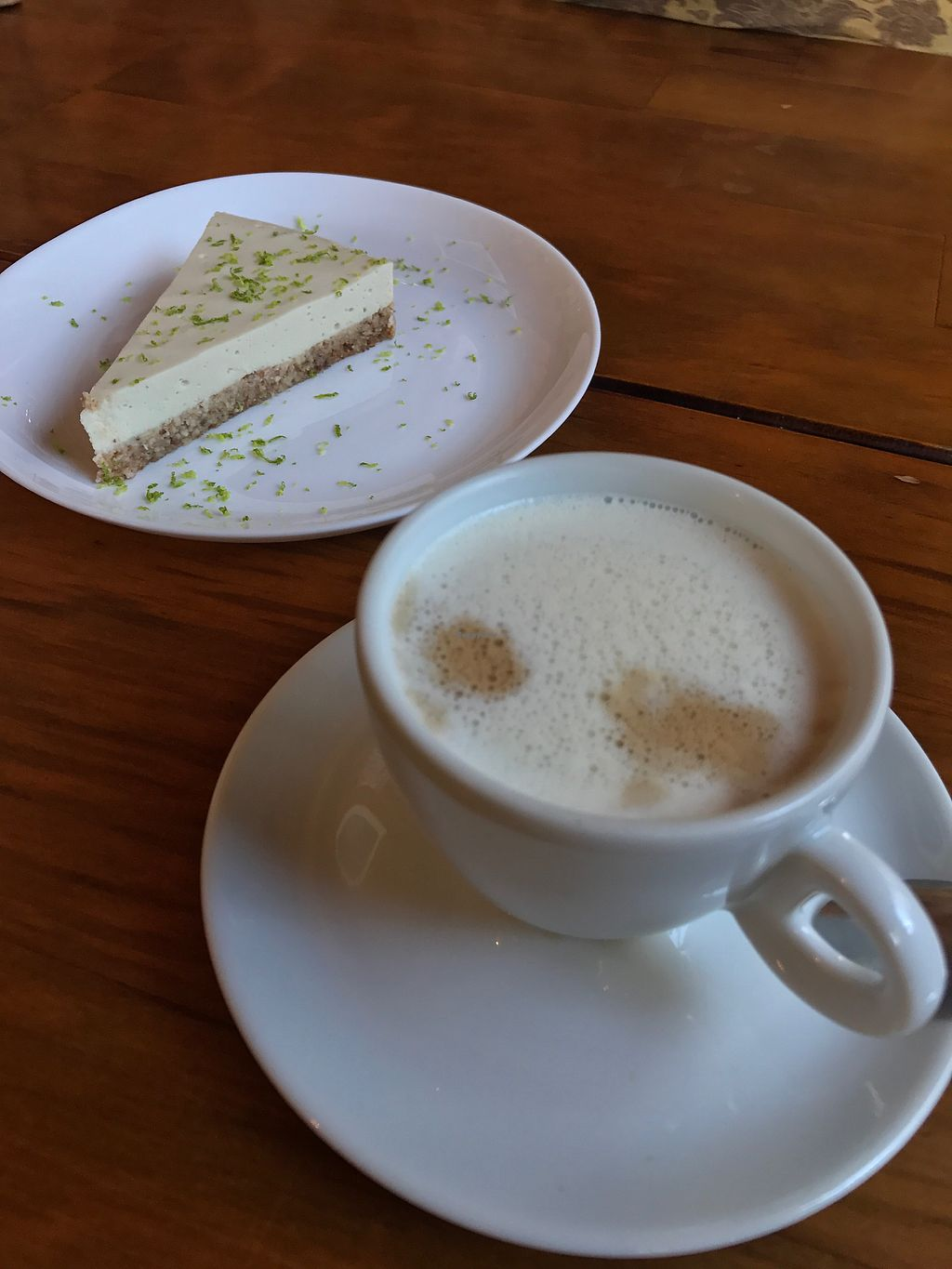 """Photo of Cravo e Canela  by <a href=""""/members/profile/monizebn"""">monizebn</a> <br/>Raw lemon pie and coffee  <br/> August 10, 2017  - <a href='/contact/abuse/image/72773/290988'>Report</a>"""