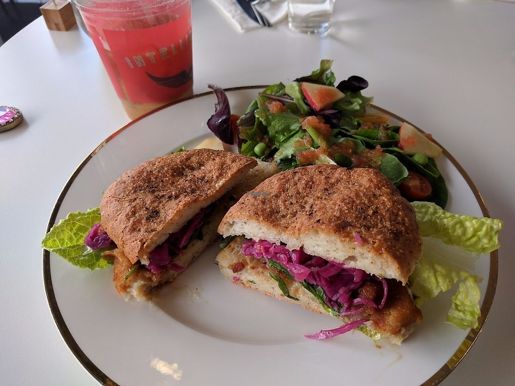 "Photo of Pomegranate Cafe  by <a href=""/members/profile/Sonja%20and%20Dirk"">Sonja and Dirk</a> <br/>crab cake <br/> March 28, 2017  - <a href='/contact/abuse/image/72787/241933'>Report</a>"
