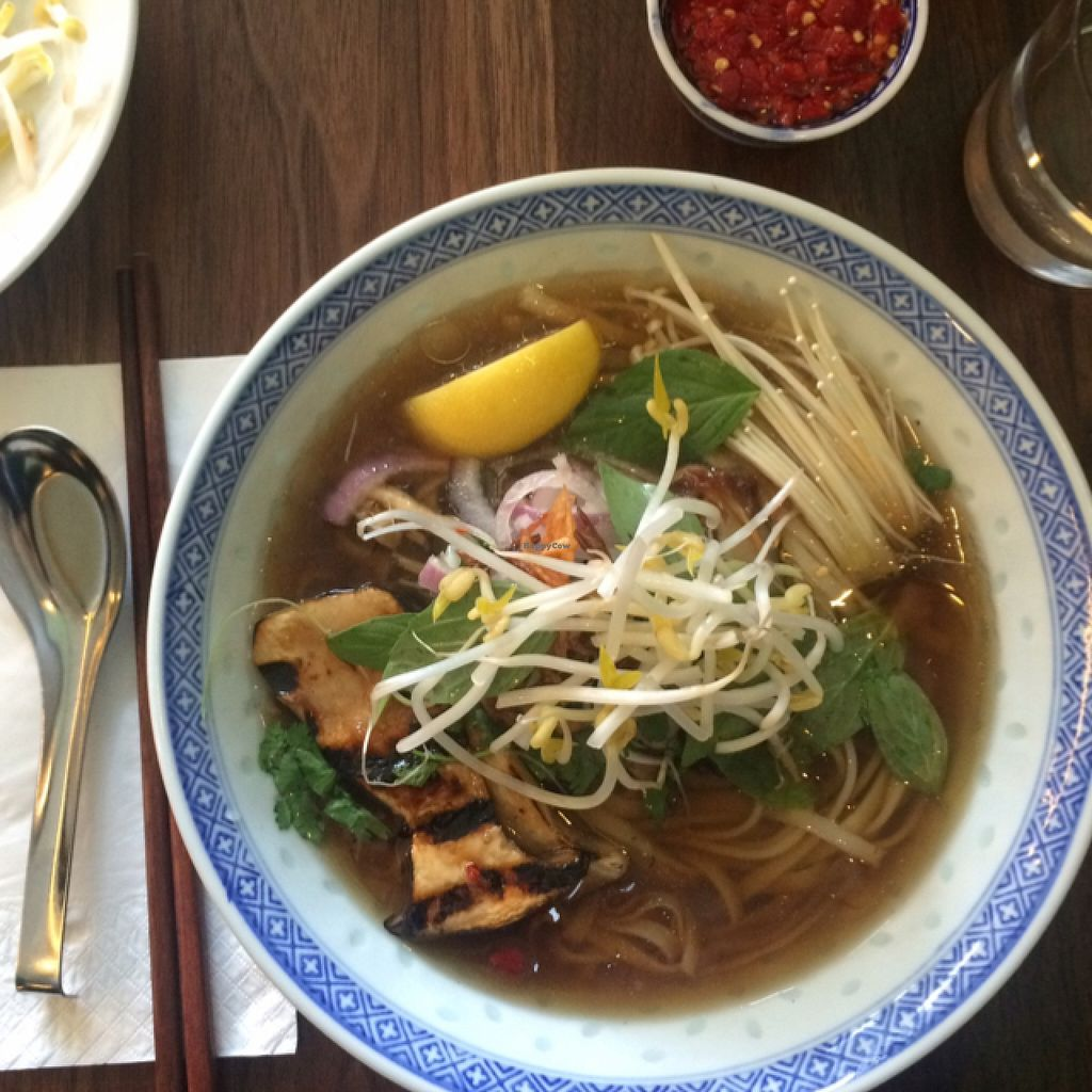 """Photo of GOODdays  by <a href=""""/members/profile/kateoc"""">kateoc</a> <br/>vegan mushroom pho <br/> May 1, 2016  - <a href='/contact/abuse/image/72788/146912'>Report</a>"""
