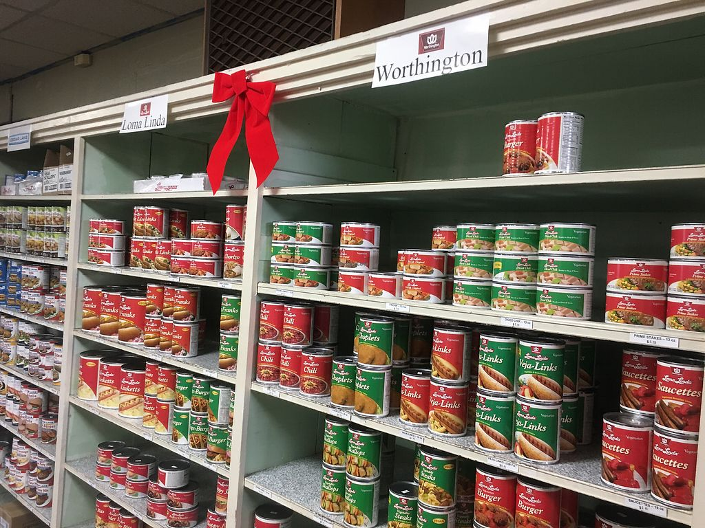 """Photo of Christian Book and Nutrition Center  by <a href=""""/members/profile/Melynavarro"""">Melynavarro</a> <br/>Lots of canned good choices  <br/> December 26, 2017  - <a href='/contact/abuse/image/7278/339342'>Report</a>"""
