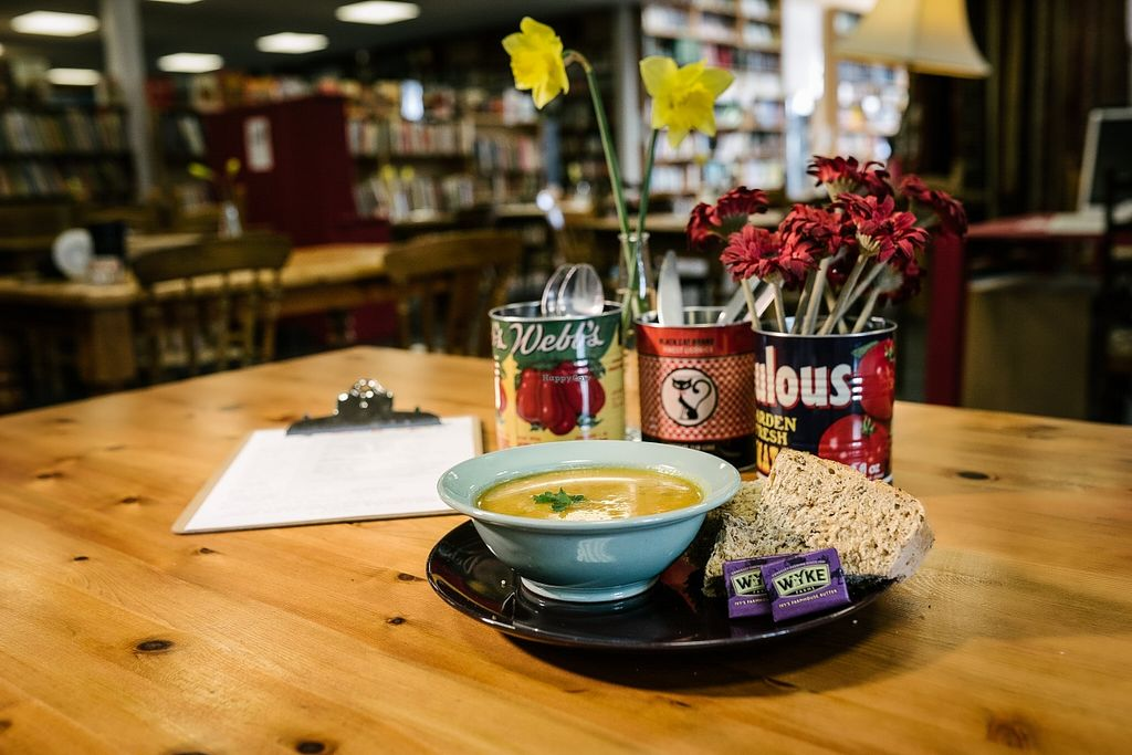 """Photo of The Full Stop Cafe  by <a href=""""/members/profile/Fenna"""">Fenna</a> <br/>Soupy Goodness <br/> May 6, 2016  - <a href='/contact/abuse/image/72791/147647'>Report</a>"""