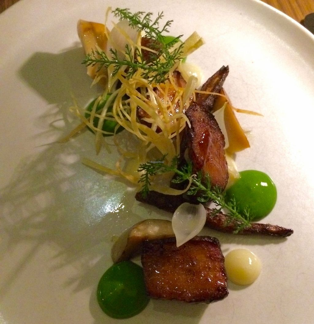 """Photo of Bentley Restaurant and Bar  by <a href=""""/members/profile/SeitanSeitanSeitan"""">SeitanSeitanSeitan</a> <br/>Vegan tasting menu <br/> April 24, 2016  - <a href='/contact/abuse/image/72793/248644'>Report</a>"""
