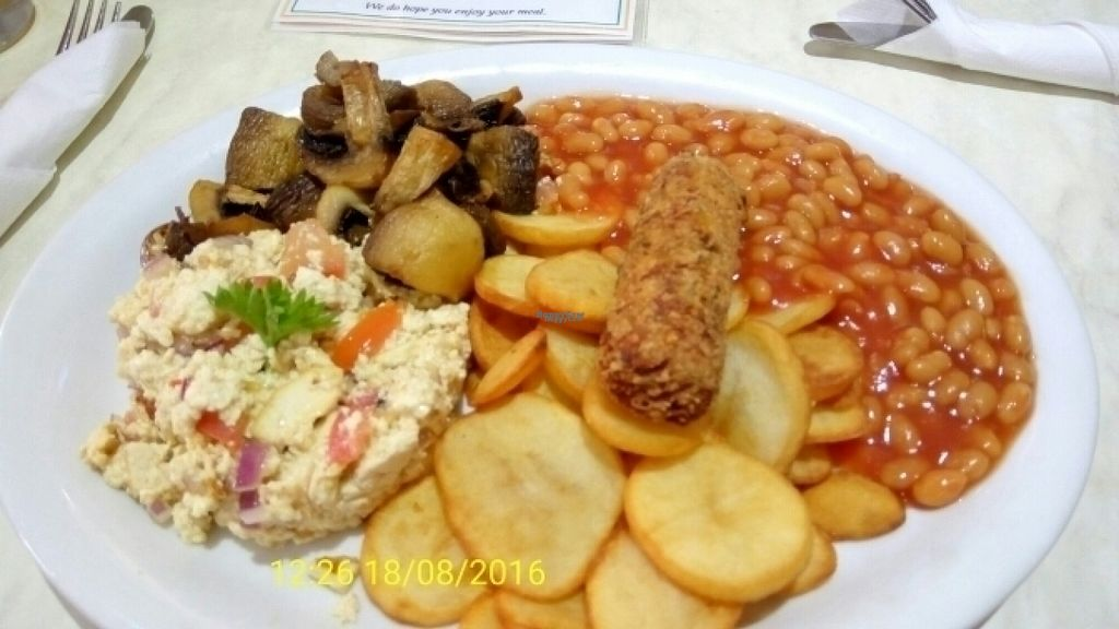 "Photo of Cafe 50  by <a href=""/members/profile/VeganWitchery"">VeganWitchery</a> <br/>Vegan all day breakfast.  <br/> August 18, 2016  - <a href='/contact/abuse/image/72802/169743'>Report</a>"