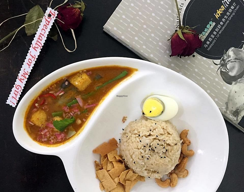 "Photo of Idealite - Sunway Carnival Mall  by <a href=""/members/profile/BearyVege"">BearyVege</a> <br/>Red Curry Rice <br/> March 14, 2018  - <a href='/contact/abuse/image/72809/370469'>Report</a>"