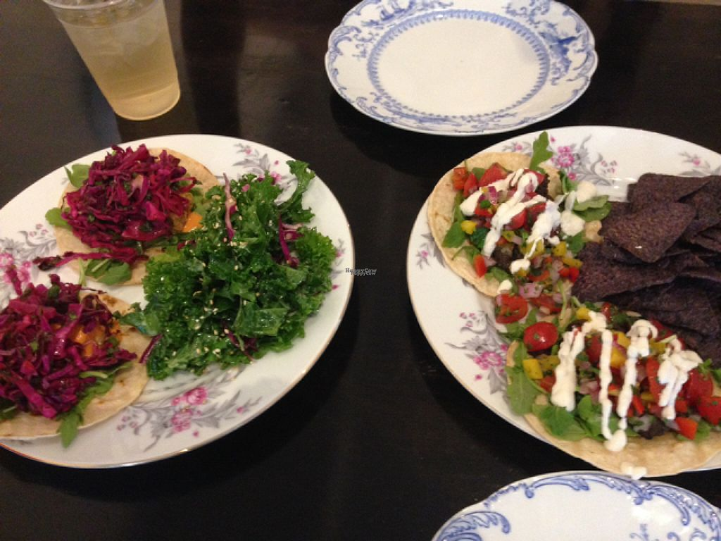 """Photo of Heart Beet Kitchen  by <a href=""""/members/profile/Jamie%20Roberts"""">Jamie Roberts</a> <br/>Delicious taco dishes! <br/> August 11, 2016  - <a href='/contact/abuse/image/72841/167732'>Report</a>"""