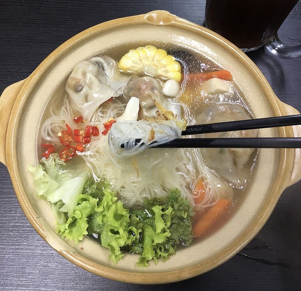 "Photo of Vege Pot  by <a href=""/members/profile/CherylQuincy"">CherylQuincy</a> <br/>Dumpling noodles  <br/> January 31, 2018  - <a href='/contact/abuse/image/72843/353069'>Report</a>"