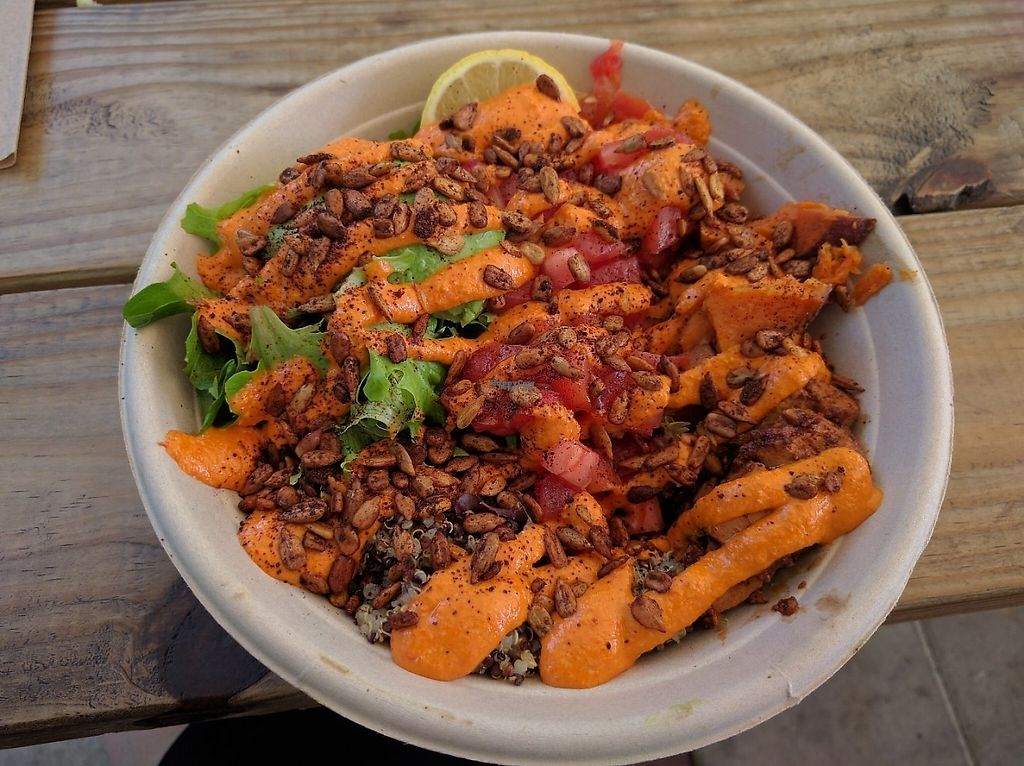 """Photo of Della Bowls - Food Truck  by <a href=""""/members/profile/Sonja%20and%20Dirk"""">Sonja and Dirk</a> <br/>Southwestern bowl <br/> November 26, 2016  - <a href='/contact/abuse/image/72858/194895'>Report</a>"""