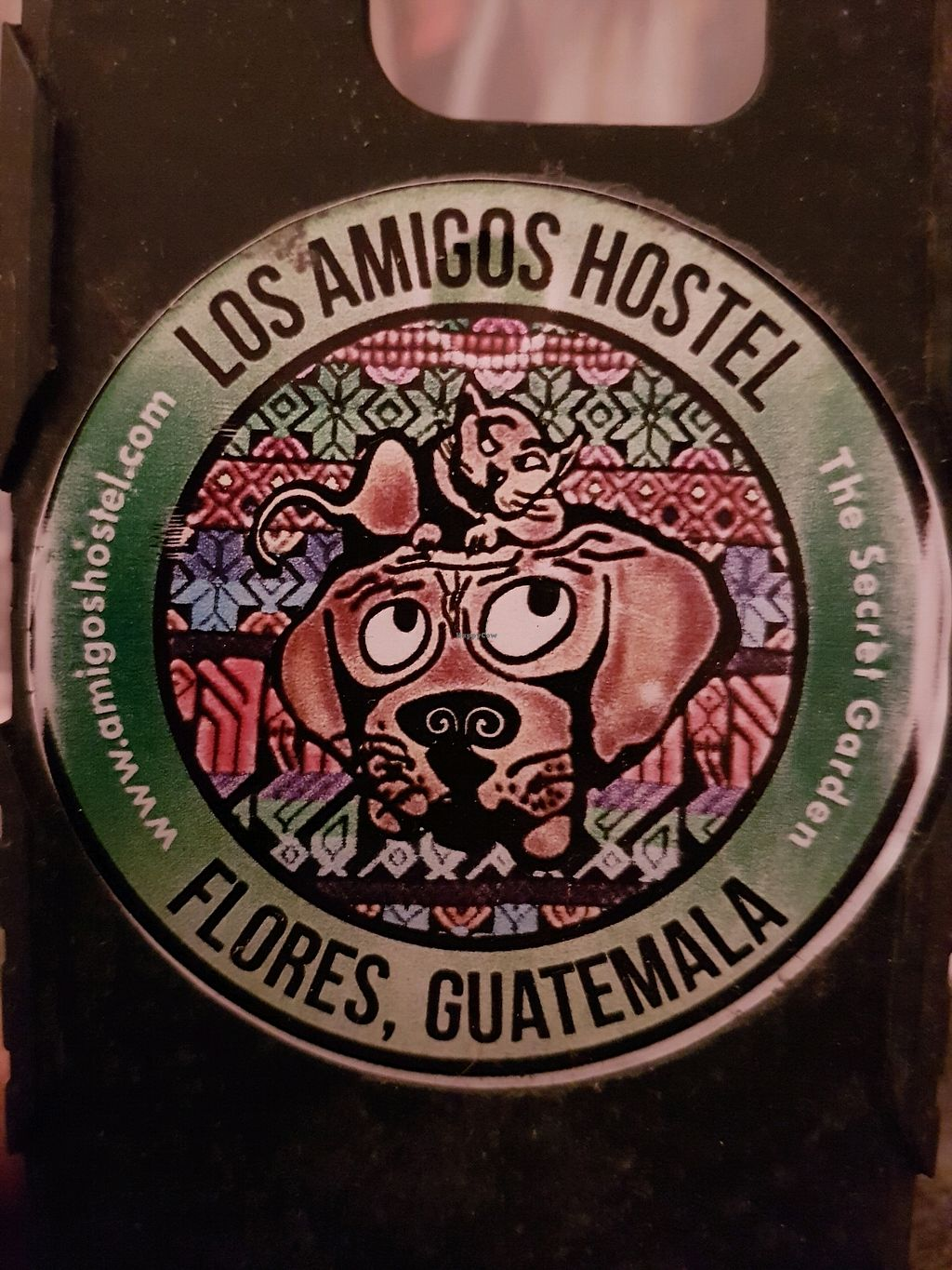 "Photo of Los Amigos  by <a href=""/members/profile/maracuya"">maracuya</a> <br/>old sticker <br/> February 25, 2018  - <a href='/contact/abuse/image/72860/363477'>Report</a>"