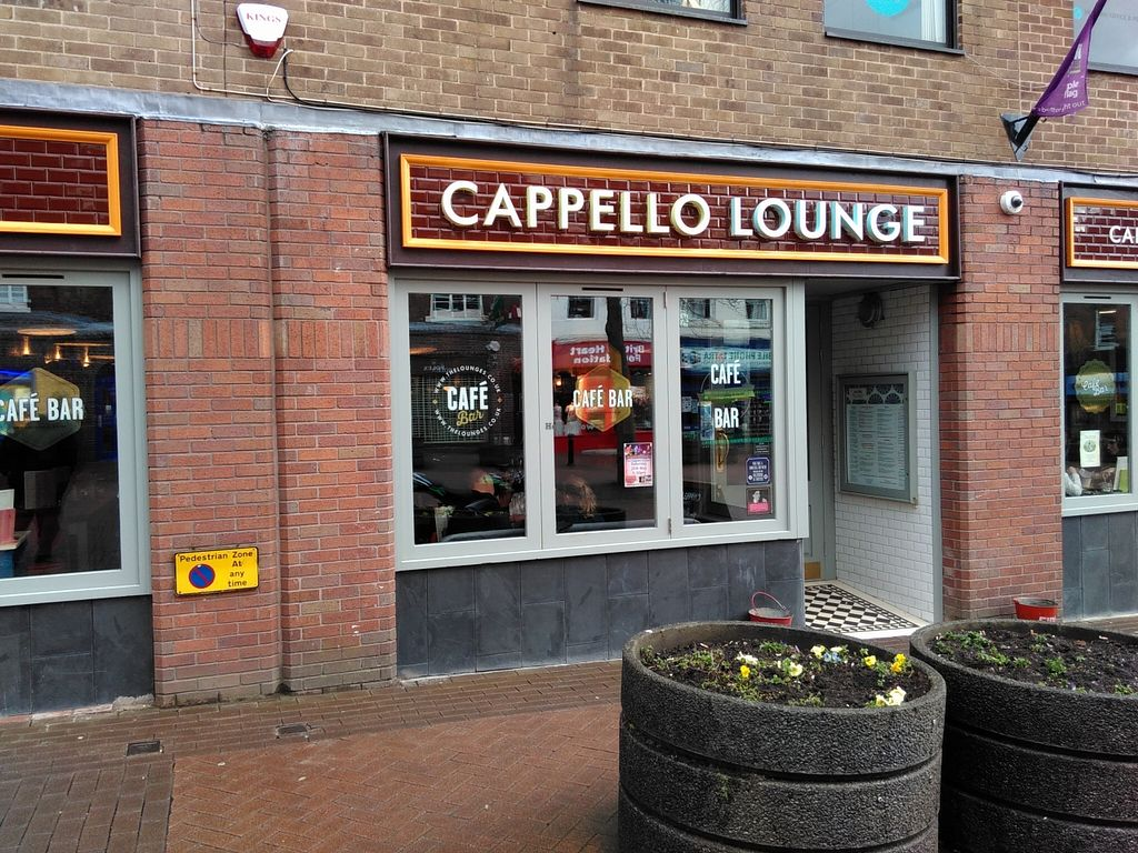 """Photo of Cappello Lounge  by <a href=""""/members/profile/Richard%20Ross"""">Richard Ross</a> <br/>Cappello Lounge, Ironmarket, Newcastle Under Lyme <br/> April 27, 2016  - <a href='/contact/abuse/image/72887/146407'>Report</a>"""