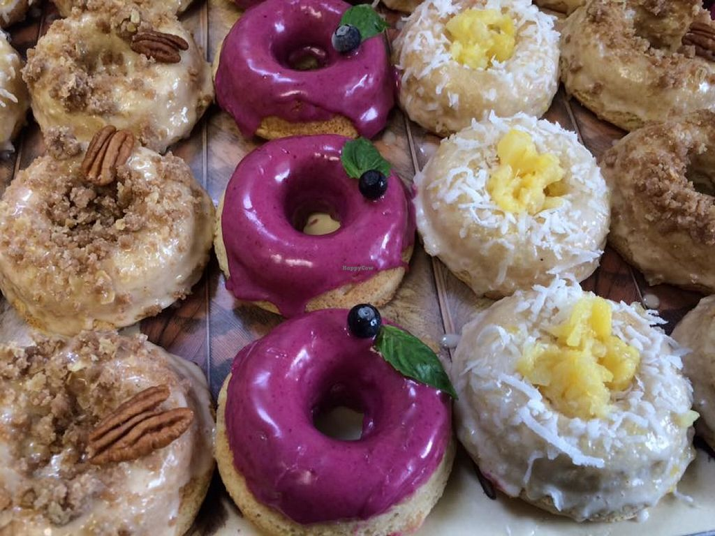 """Photo of Cedar Ridge Cafe & Bakery  by <a href=""""/members/profile/Veganmedusa"""">Veganmedusa</a> <br/>Vegan Donuts! <br/> April 30, 2016  - <a href='/contact/abuse/image/72904/146843'>Report</a>"""