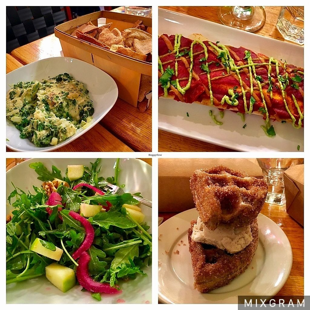 """Photo of Cedar Ridge Cafe & Bakery  by <a href=""""/members/profile/ABrown01"""">ABrown01</a> <br/>Vegan night 5/3 <br/> May 4, 2017  - <a href='/contact/abuse/image/72904/255383'>Report</a>"""