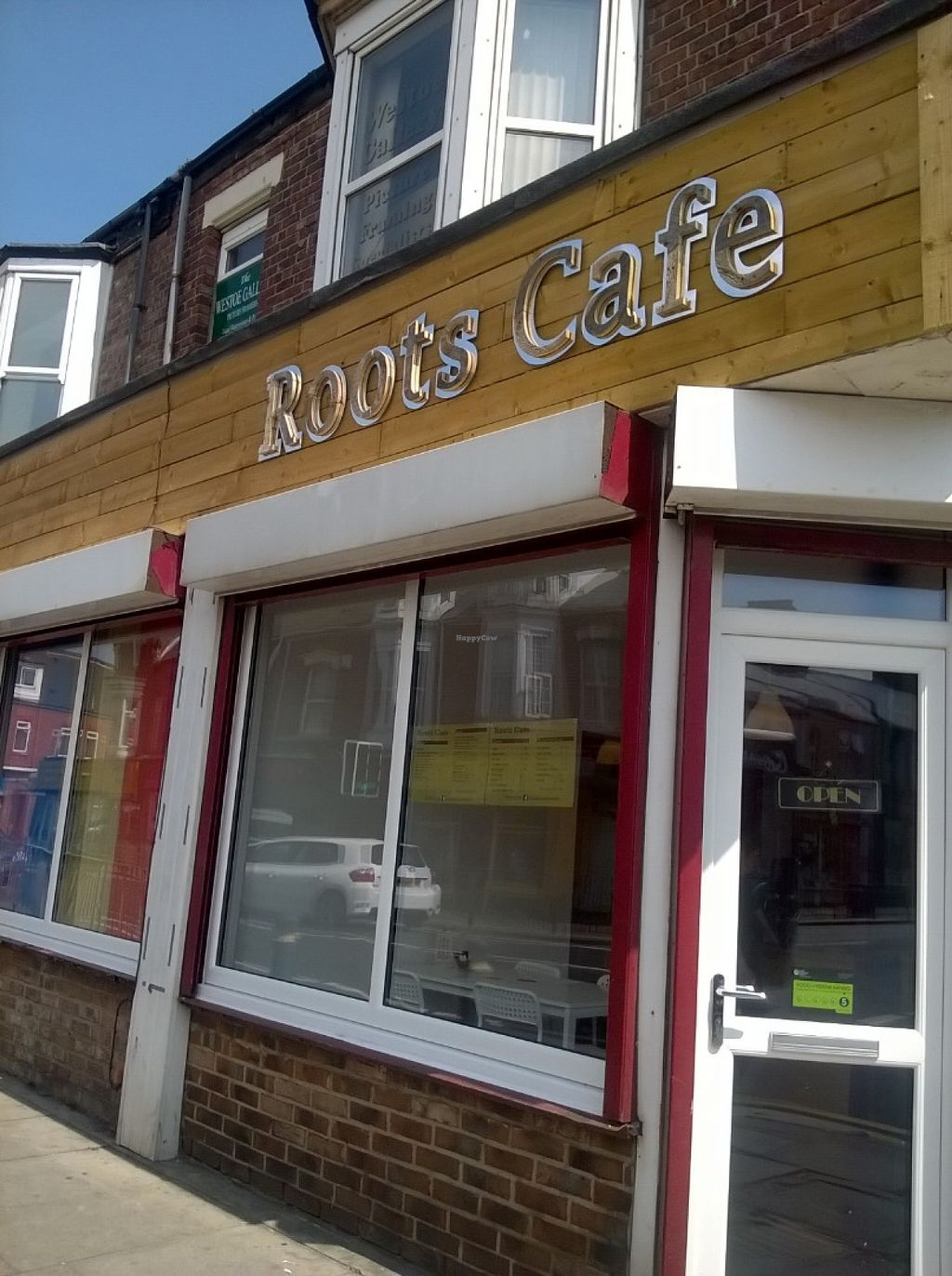 """Photo of CLOSED: Roots Cafe  by <a href=""""/members/profile/deadpledge"""">deadpledge</a> <br/>Roots Cafe <br/> June 7, 2016  - <a href='/contact/abuse/image/72911/152751'>Report</a>"""