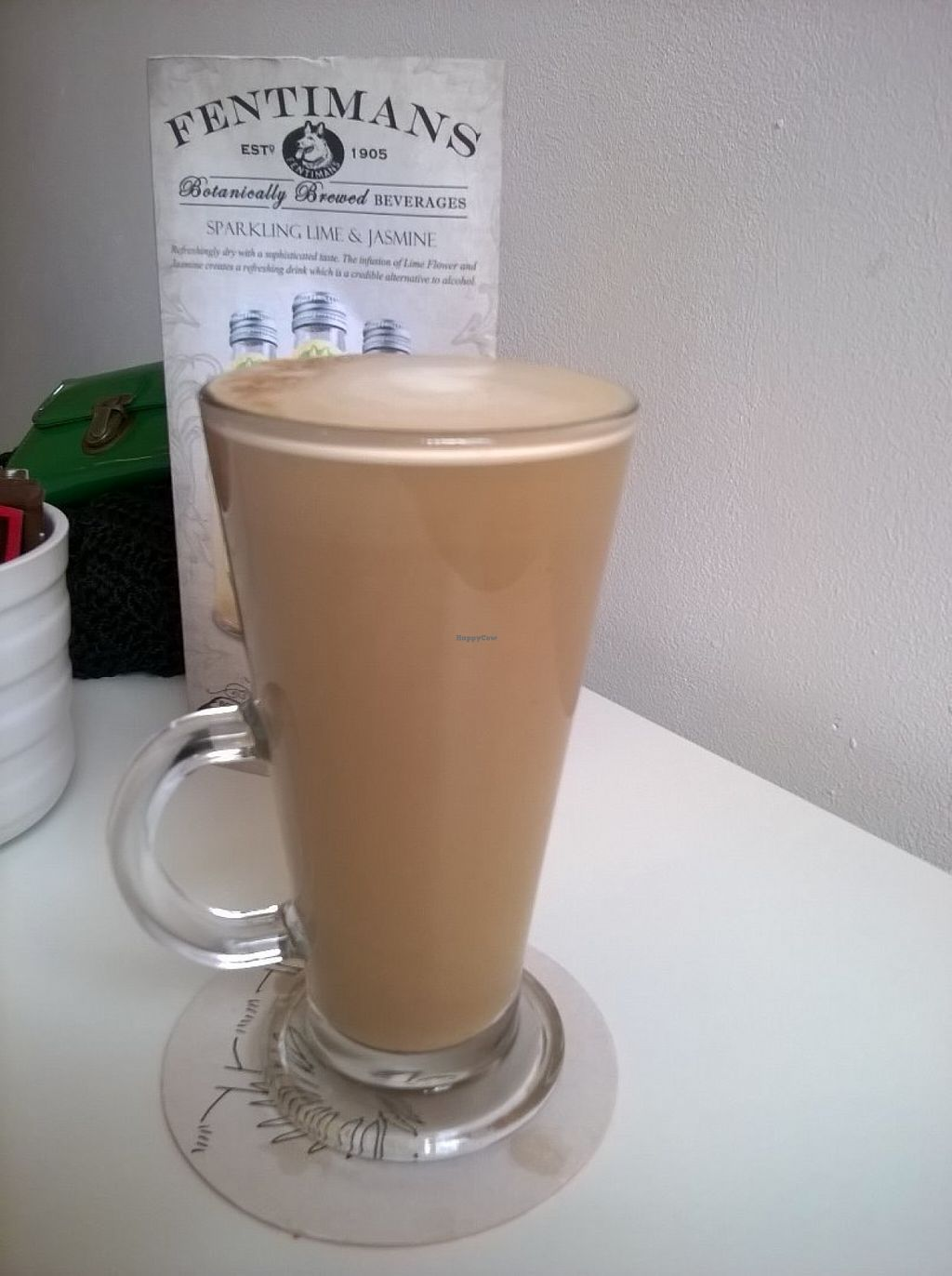 """Photo of CLOSED: Roots Cafe  by <a href=""""/members/profile/deadpledge"""">deadpledge</a> <br/>Gingerbread latte <br/> July 18, 2016  - <a href='/contact/abuse/image/72911/160726'>Report</a>"""