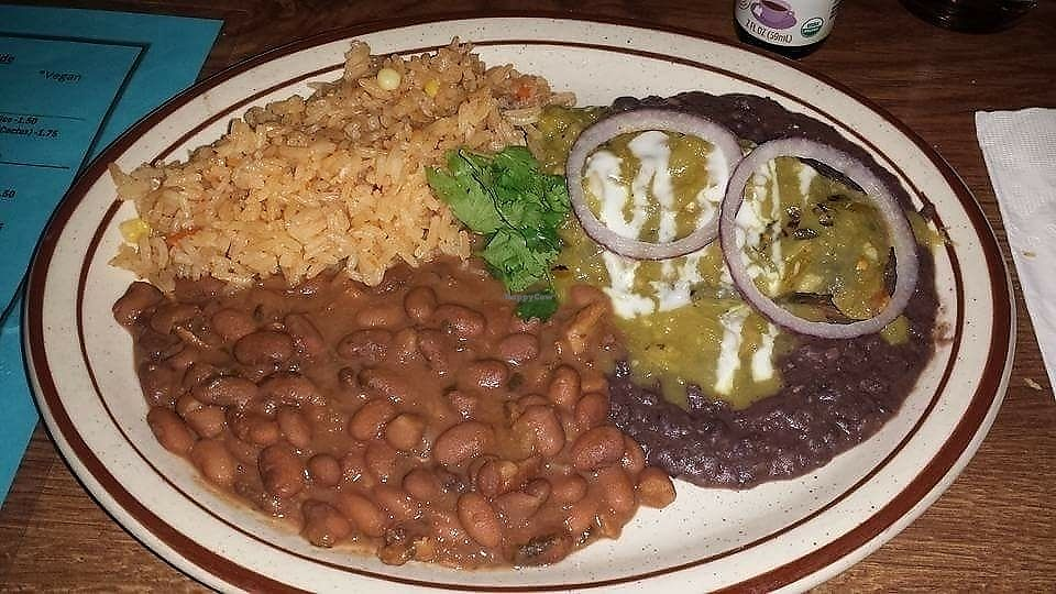 """Photo of Zia Taqueria  by <a href=""""/members/profile/PixieMel"""">PixieMel</a> <br/>Tamale with rice and beans <br/> August 19, 2017  - <a href='/contact/abuse/image/72922/294151'>Report</a>"""