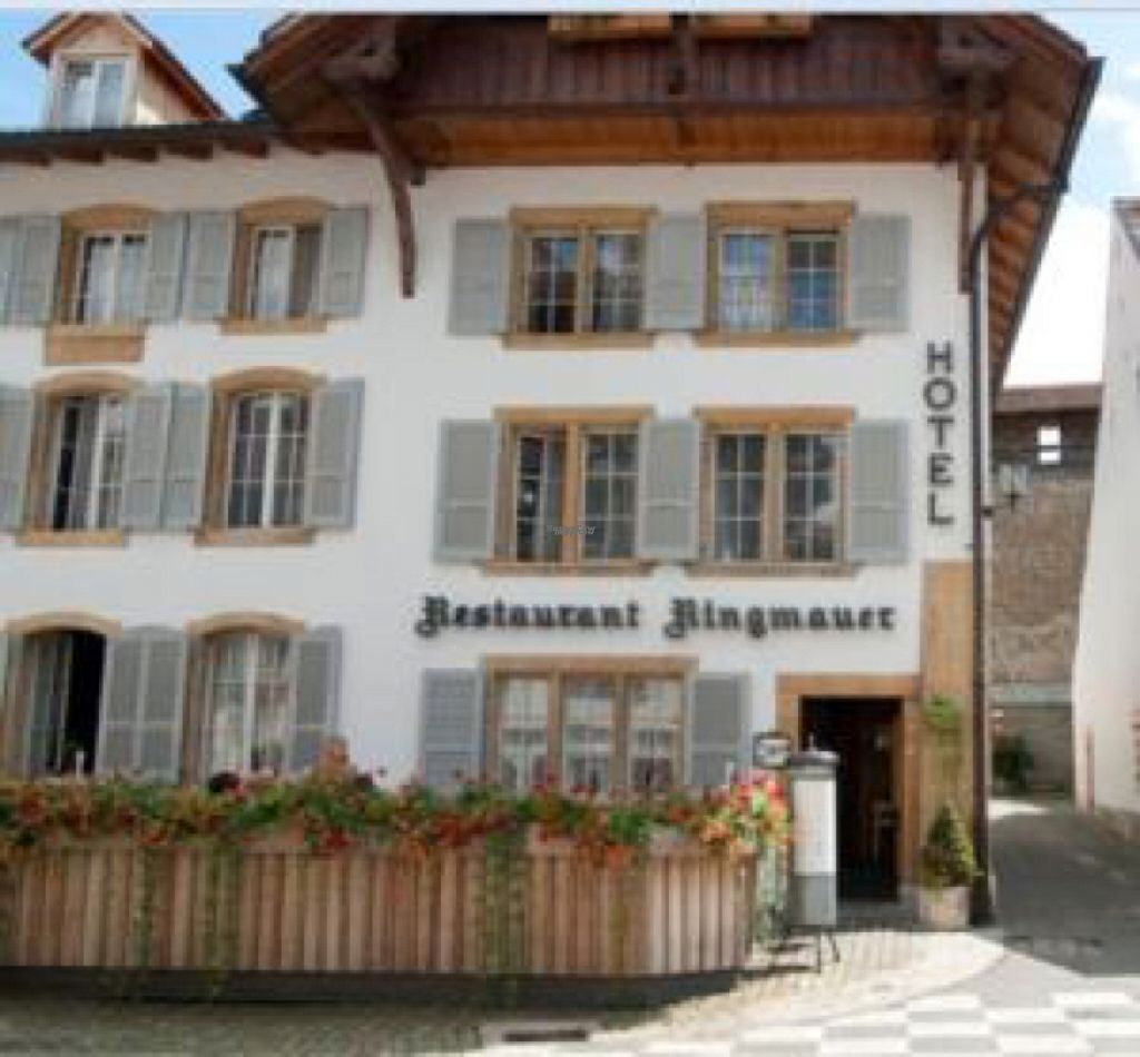 """Photo of Ringmauer Hotel-Restaurant  by <a href=""""/members/profile/Ninzs"""">Ninzs</a> <br/>front of restaurant <br/> August 1, 2016  - <a href='/contact/abuse/image/72937/164050'>Report</a>"""