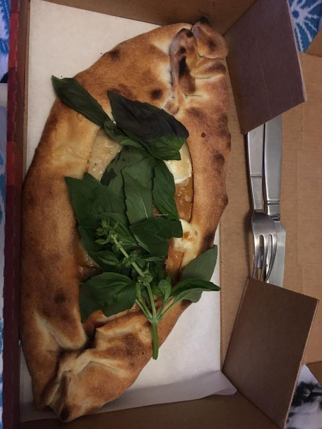 """Photo of La Pizza  by <a href=""""/members/profile/Clalex"""">Clalex</a> <br/>Baked vegan pizza <br/> May 8, 2016  - <a href='/contact/abuse/image/72960/148070'>Report</a>"""
