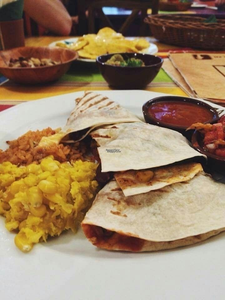 """Photo of Taco Mexicano  by <a href=""""/members/profile/Meaks"""">Meaks</a> <br/>Veggie quesadillas  <br/> September 17, 2016  - <a href='/contact/abuse/image/72963/176192'>Report</a>"""