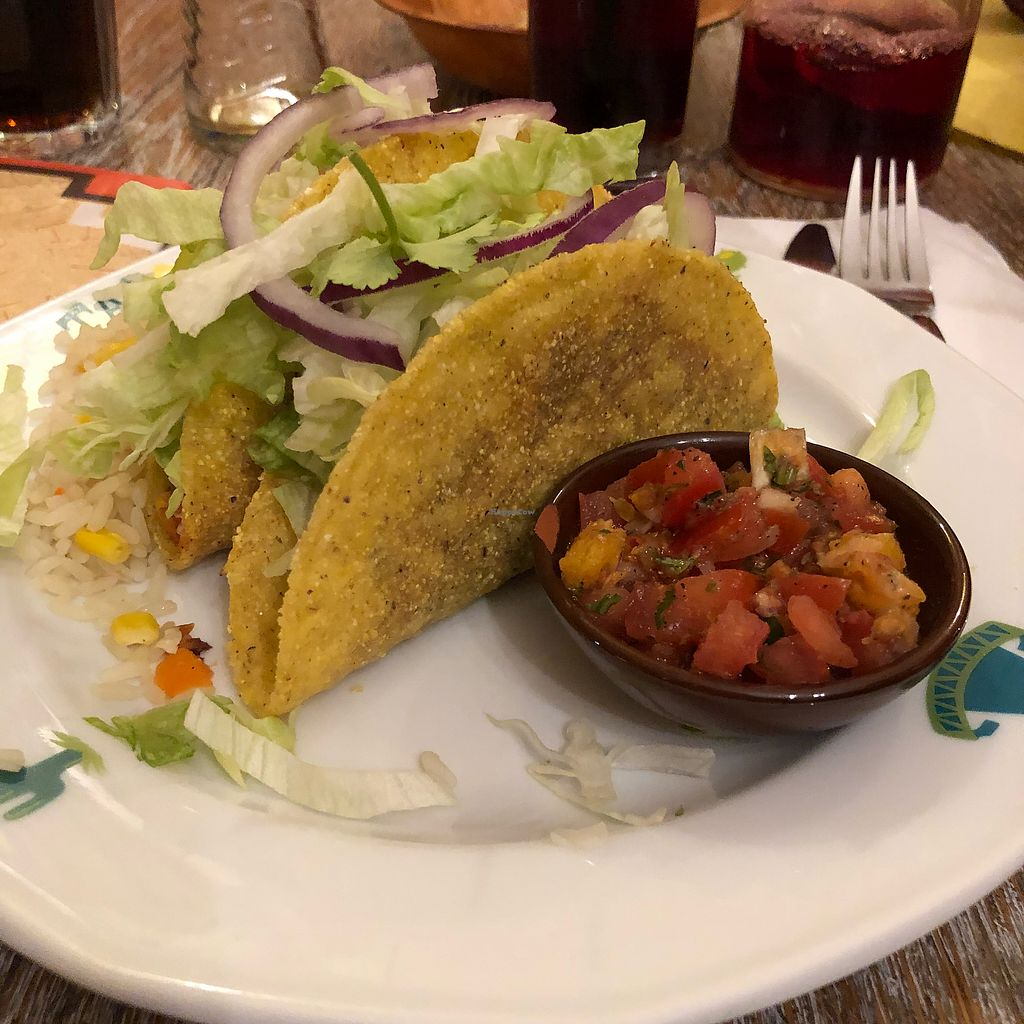 """Photo of Taco Mexicano  by <a href=""""/members/profile/ffion"""">ffion</a> <br/>Vegan starter  <br/> March 13, 2018  - <a href='/contact/abuse/image/72963/370326'>Report</a>"""