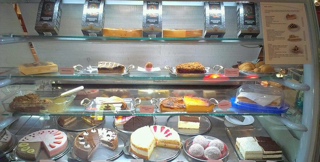 """Photo of Kavarna Zvon  by <a href=""""/members/profile/Clalex"""">Clalex</a> <br/>Some of the pastries.  <br/> May 8, 2016  - <a href='/contact/abuse/image/72968/148076'>Report</a>"""