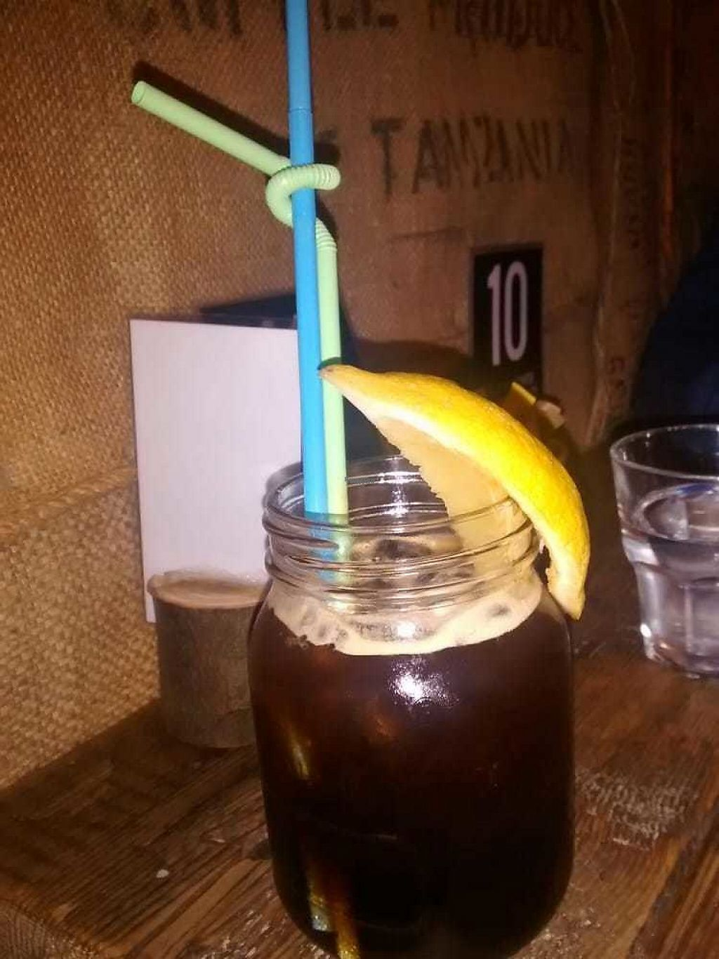 """Photo of CLOSED: The Caffeine Drip  by <a href=""""/members/profile/TrixieFirecracker"""">TrixieFirecracker</a> <br/>Iced cola-coffee with double espresso <br/> December 31, 2016  - <a href='/contact/abuse/image/72974/206631'>Report</a>"""