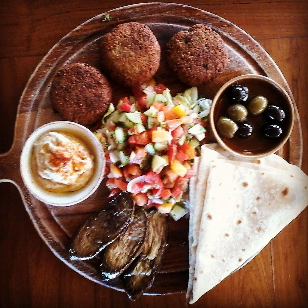 """Photo of Coconut Monkey  by <a href=""""/members/profile/SarahBrett"""">SarahBrett</a> <br/>Falafel Platter <br/> April 3, 2018  - <a href='/contact/abuse/image/73003/380218'>Report</a>"""