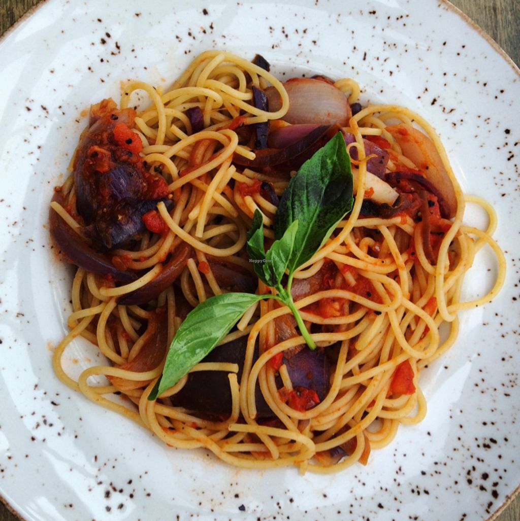 """Photo of Zizzi - Cardiff Bay  by <a href=""""/members/profile/DollyWiggles"""">DollyWiggles</a> <br/>pasta primavera with added roasted onions <br/> May 9, 2016  - <a href='/contact/abuse/image/73053/148251'>Report</a>"""